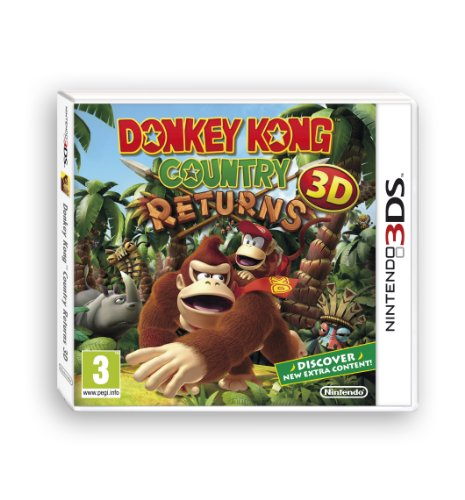 [UK-Import]Donkey Kong Country Returns 3D Game 3DS