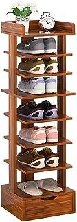 Étagère à Chaussures Étagère à Chaussures à 8 Niveaux avec tiroir Armoire à Chaussures Moderne Meubles de Maison Couloir V...