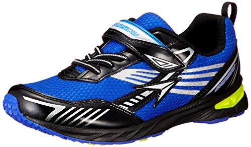 [シュンソク] スニーカー 運動靴 幅広 軽量 抗菌 防臭 15~23cm 2.5E キッズ 男の子 SJC 9380 ブルー 21.0 cm 2_point_5_e