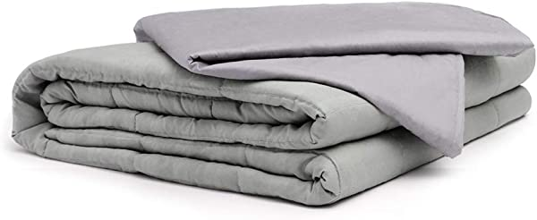 KIDS S YEAR Weighted Blanket 25 Lbs Adult Heavy Blankets 80 X 87 Inch Breathable Cotton Cover Include