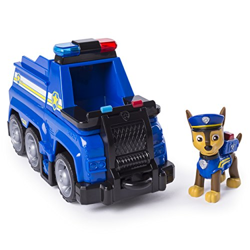 Paw Patrol Ultimate Rescue - Chase?s Ultimate Rescue Police Cruiser with Lifting Seat & Fold-Out Barricade, for Ages 3 & Up
