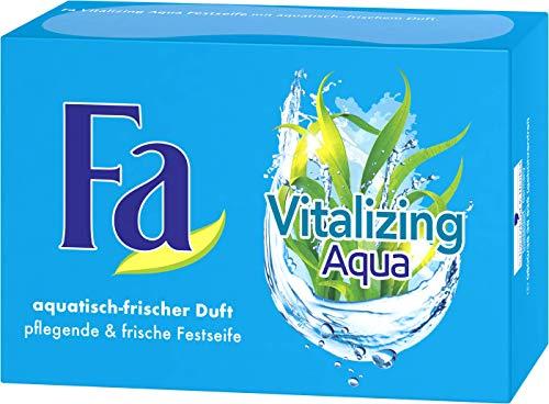FA Festseife Vitalizing Aqua mit aquatisch-frischem Duft, 1er Pack (1 x 100 g)