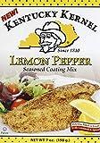 Kentucky Kernel Lemon Pepper Seasoned Coating Mix, 7 Ounce (Pack of 6)