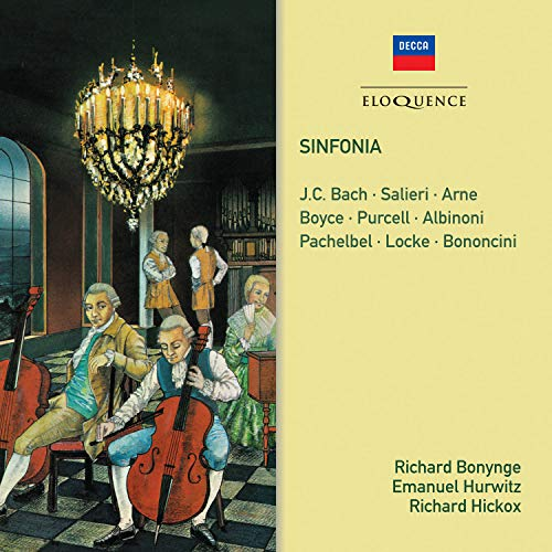 Sinfonia - Salieri, J.C. Bach, Arne, Purcell, Albinoni, Pach