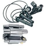 1 Juego Bobinas De Encendido 22451-AA800 Y 22433-AA580 Cables De Arranque Para S-ubaru Forester Impreza Legacy IV V Outback 2.0L 2.5L 2000-