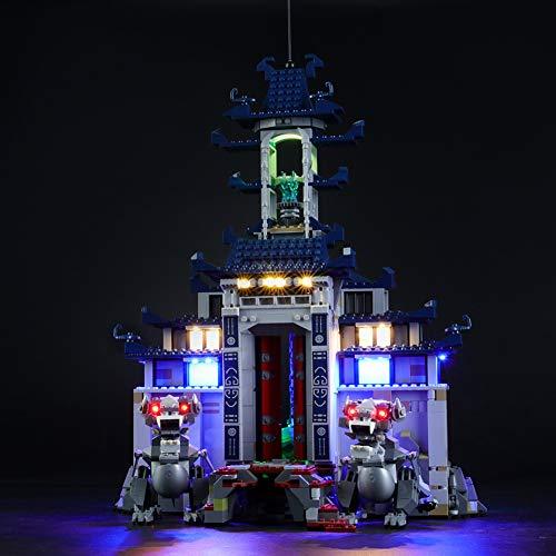 Led Beleuchtungsset Für Lego NINJAGO Temple Ultimate Weapon,Kompatibel Mit Lego 70617 Bausteinen Modell (Modell Nicht Enthalten)