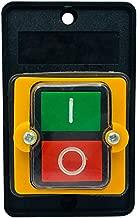 ACAMPTAR Interruptor de laminas Contacto de Sensor magnetico Blanco para Puerta Ventana
