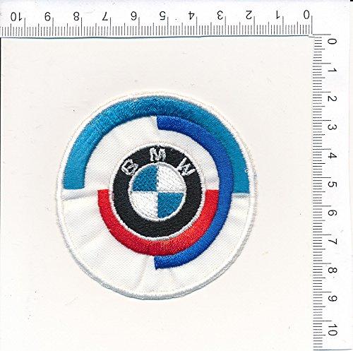 Applikation Aufbügler Patches Stick Emblem Aufnäher Abzeichen 'BM.W RACING