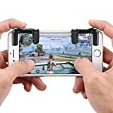 Ruimin A Pair Mobile Game Fire Button Mobile Game Controller L1R1 Sharpshooter Controller PUBG V3.0 for Android Smartphones, Cell Phones, Tablets and Devices