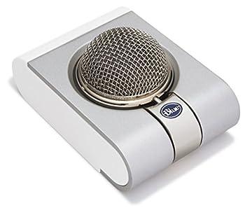blue microphone snowflake
