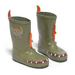 5. Kidorable Kid's Dinosaur Rain Boots