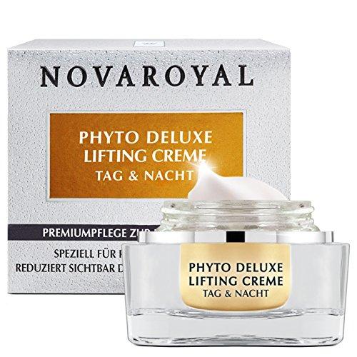 NOVAROYAL® Anti-Aging Creme für Frauen ab 50 | Phyto Deluxe Lifting Gesichtscreme mit Anti Age Wirkung | Tages- und Nachtcreme 50ml