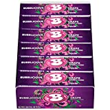 Bubblicious Bubble Gum, (Grape, 18 Five-Count Packs)