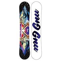 GNU Velvet GNURU Asym Womens Snowboard Black Purple 147