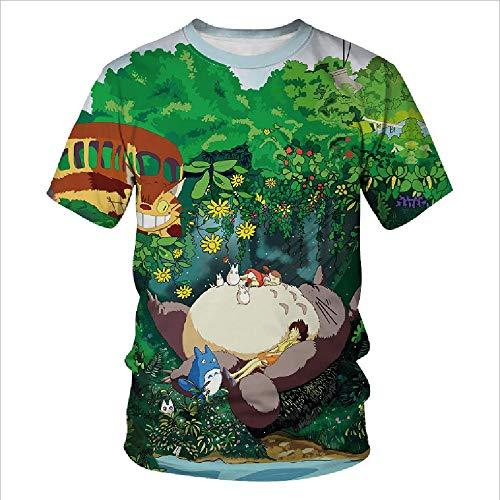Preisvergleich Produktbild Sommer-T-Shirt,  kurzärmelig,  3D-Digitaldruck,  Rundhalsausschnitt,  kurzärmelig Gr. S