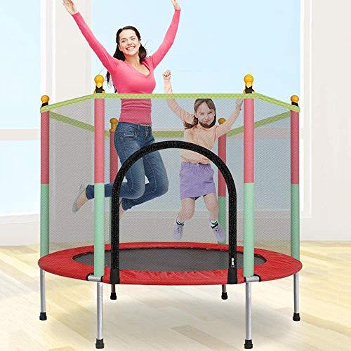 Trampolín Al Aire Libre, Jardín Trampolín con Red De Seguridad Completa, Cubierta De Borde, Accesorios, Cama Elástica De Los Niños para El Salto De Fitness