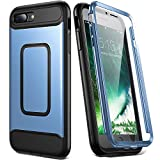 YOUMAKER Case for iPhone 8 Plus & iPhone 7 Plus, Full Body with Built-in Screen...