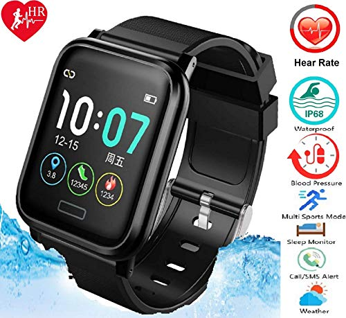 N3 ZELEK Smart Watch Bloeddrukmeter Fitness Tracker Smart Band GROTE BATTERIJ 260 mAh Waterdicht 50 m IP68 Kleurenscherm Hartslagmeter Activity Tracker Voor Mannen Vrouwen Slaapmonitor Smartwatch
