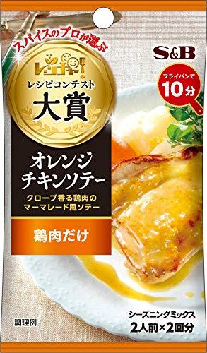 エスビー食品 レッチャ! シーズニング オレンジチキンソテー 19g ×10袋