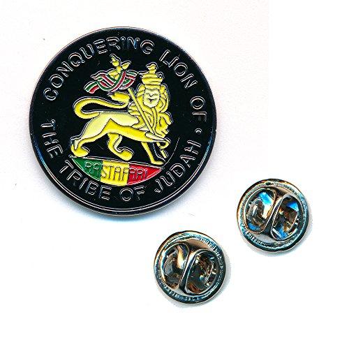 The Lion of Judah Löwe Judas Metall Button Badge Pin Anstecker 0077
