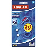 Tipp-Ex Easy Correct - Cinta Correctora, 12 m x 4.2 mm, Caja de 2+1