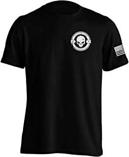 Divided We Fall Military Sniper Skull T-Shirt