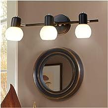 Spiegellampen, Eenvoudige Nordic 3 Heads LED Spiegel Voorlicht Hotel Huishouden Murals Gang Aisle Bedside Badkamer Mode Ma...