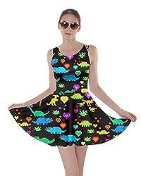 7. CowCow Womens Jurassic World Skater Dress