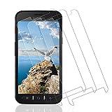 Wiestoung Protecteur d'écran en Verre Trempé pour Samsung Xcover 4/4S, [2.5D Bord]...