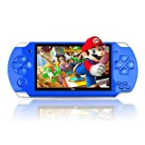 4.3 Inch 32 Bit Handheld Pocket Game Machine,Built-in 10000 Games 8GB Portable Console MP4 Player