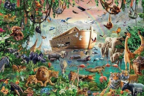 Legpuzzel 4000 Stukjes, Ark Van Noach Volwassen Puzzel Voor Kinderen Creatief Spel Puzzel Kerst Woondecoratie Cadeau Voor 8-12 Extra Groot Herdenkings Educatief Speelgoed Legpuzzels Voor Volwassenen