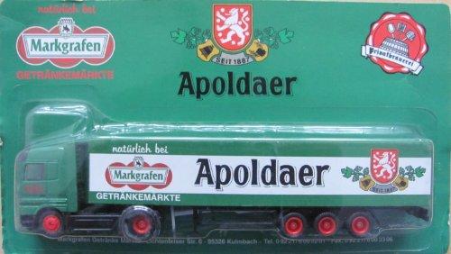 Markgrafen Getränkemarkt Nr.09 - Apoldaer - MB Actros - Sattelzug