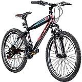 Jugendfahrrad 24 Zoll Mountainbike Fahrrad 24' Geroni Magnum Hardtai MTB...