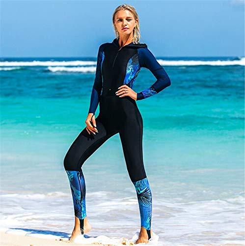 NUO-Z Frauen Langer Neoprenanzug - Tauchen, Schnorcheln und Wassersport - Komfort, Flexible und anatomische Passform