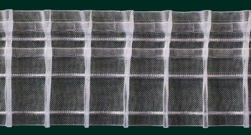 Ruther & Einenkel Bleistiftfalte, 80 mm, volltransparent, 200% / Aufmachung 10 m