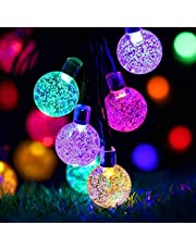 RAAJAOUTLETS Crystal Ball String Lights for Home indoor outdoor Decoration, Crystal ball,