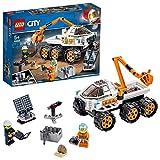 LEGO 60225 City Rover-Testfahrt, Weltraumabenteuer Bauset, Expedition Mars Fahrzeugspielzeug mit Astronauten-Minifigur, inspiriert von der NASA - LEGO