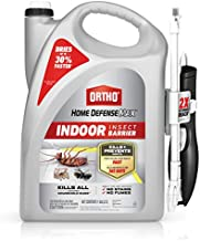 Ortho Home Defense Max Indoor Insect Barrier: Starts to Kill Ants, Roaches, Spiders, Fleas & Ticks Fast, with comfort wand, 1 gal.