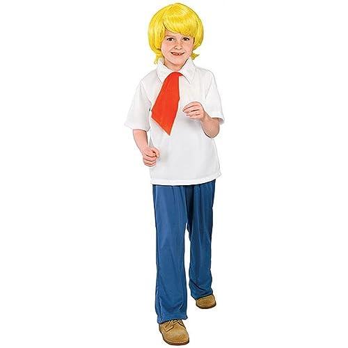 Little Boys Scooby Doo Costume M