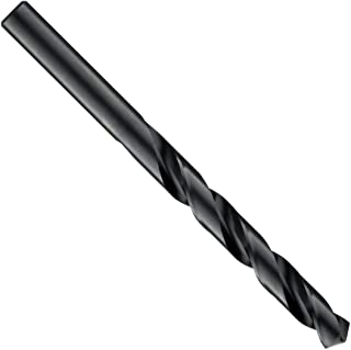 Cleveland 2001G Style High Speed Steel Jobbers' Drill Bit, Black Oxide, Round Shank, 118 Degree Point, 7.8mm Size (Pack of 6)