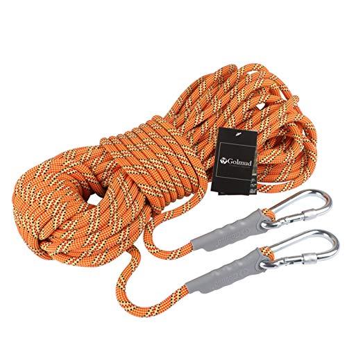Escalada en árboles Cuerda de Seguridad estática 10.5mm Cuerda de seguridad al aire libre escalada de roca montañosa escalada de montaña cuerda de rescate cuerda cuerda eléctrico cuerda aérea cuerda