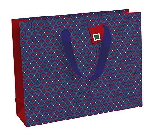 Clairefontaine 27069-6C - Un sac cadeau shopping 37,3x11,8x27,5 cm 210g, Wax