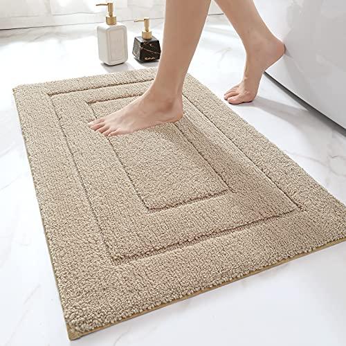 DEXI Bathroom Rug Mat, Extra Soft Absorbent Premium Bath Rug, Non-Slip Comfortable Bath Mat, Carpet for Tub, Shower, Bath Room, Machine Wash Dry,...
