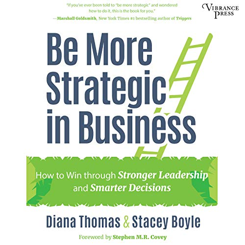 Be More Strategic in Business audiobook cover art