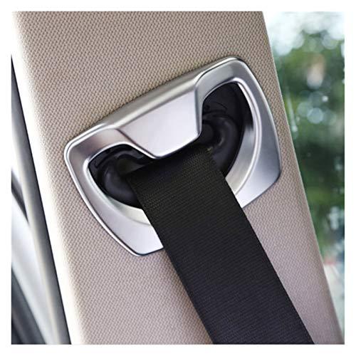 Daojun 2 unids Chrome B Cinturón de Seguridad Cinturón de Seguridad Cinturón de decoración Cubra Kit de Ajuste para BMW 3 4 Series F30 F31 F32 F36 2014 2015 2016