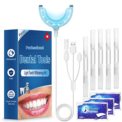 Kit de Blanqueamiento Dental Gel 5PCS ifanze Blanqueamiento