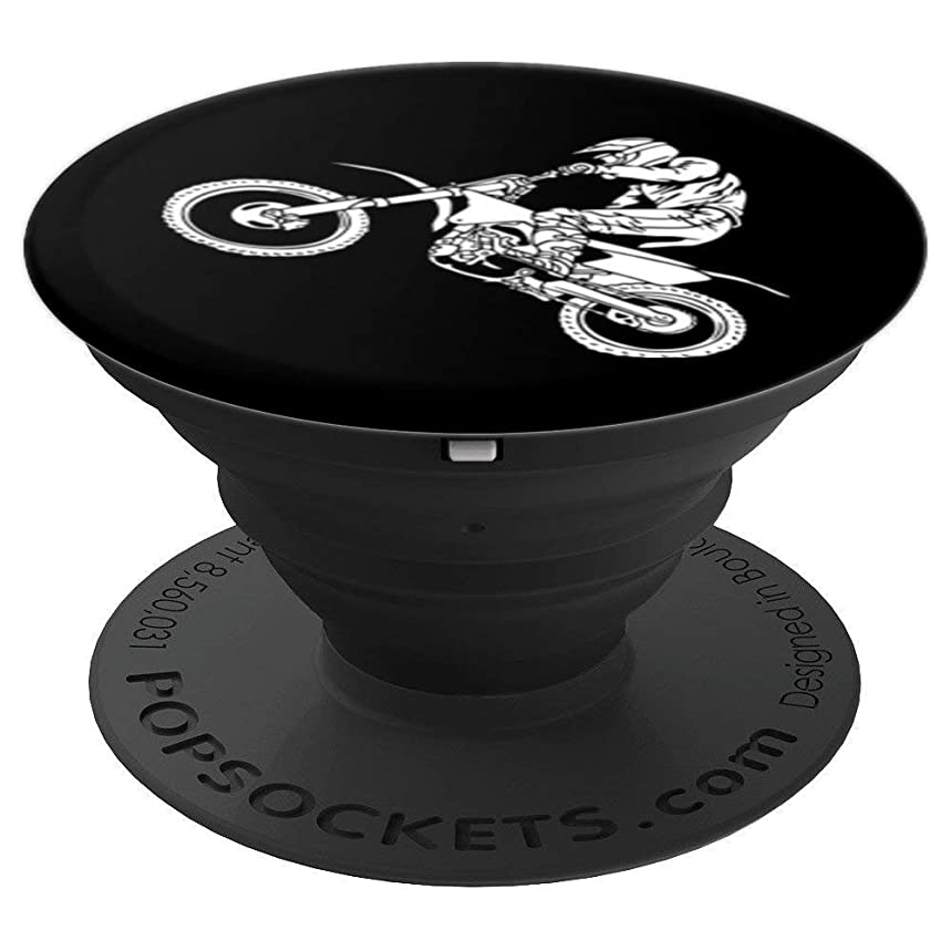Dirt Bike Men's Gifts Bike Pop Socket - PopSockets Grip and Stand for Phones and Tablets