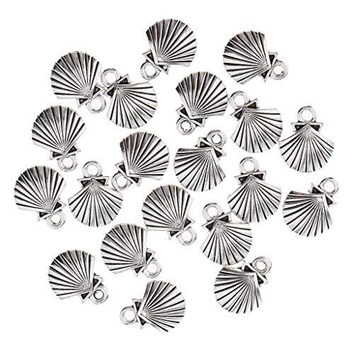 20 stuks vis zee wezens losse kralen kraal hanger maken armband ketting charme sieraden, Schelp