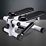Jukkre Mini Stepper Exercise Cross Trainer Elliptical for Home Office Workout Workplace Health No Height Adjustable Desk Necessary Trainer