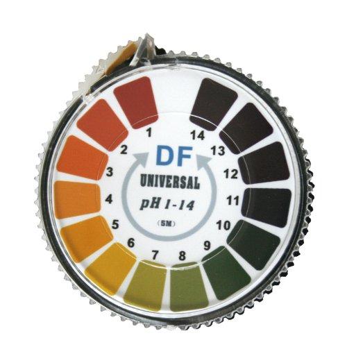 Universal pH-Indikator-Papier - Bereich von 1-14 auf Rolle mit Skala